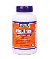Витамины NOW Eleuthero 500 mg 100 капс.